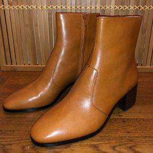 Loeffler Randall Camel Boots (New in Box)